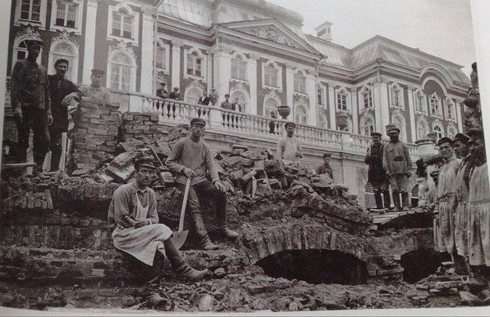 Петергоф после войны, Санкт-Петербург