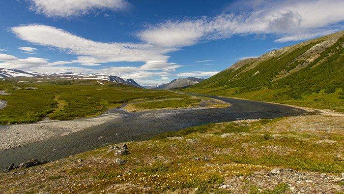 Долина реки Щучьей, Ямало-Ненецкий АО