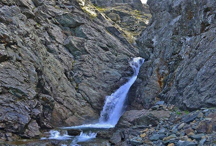 Водопад Нефритовый, Ямало-Ненецкий автономный округ