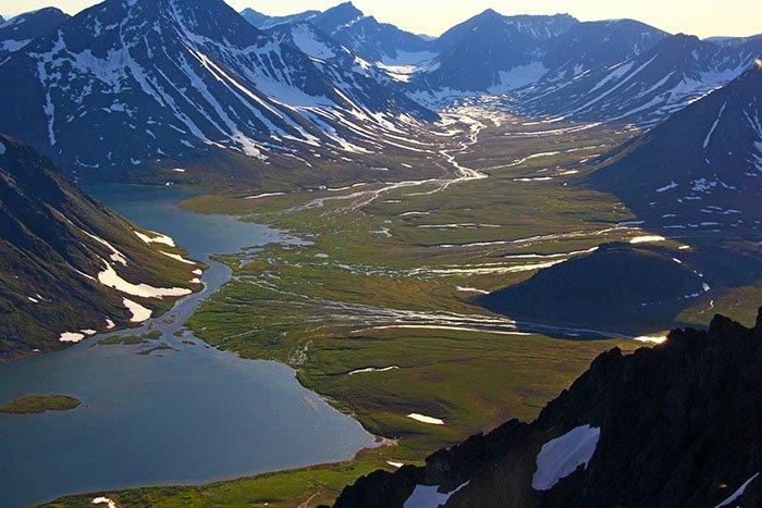 Перемычка между озерами Малое и Большое Хадатаёганлор, Ямало-Ненецкий АО