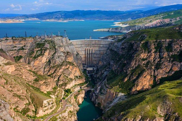Чиркейская ГЭС, республика Дагестан