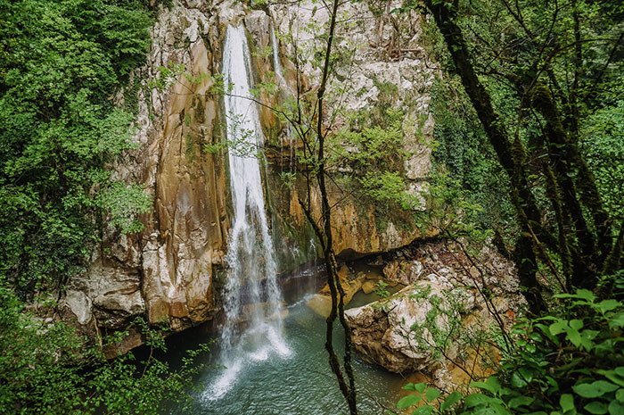 Верхний Агурский водопад, Сочи