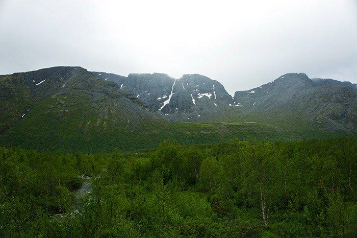 Гора Вудъяврчорр, Мурманская область