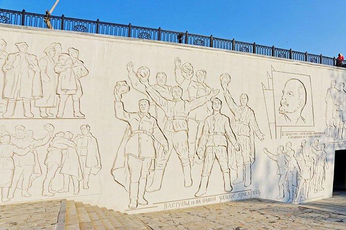 Монументальный рельеф, Мамаев курган, Волгоград