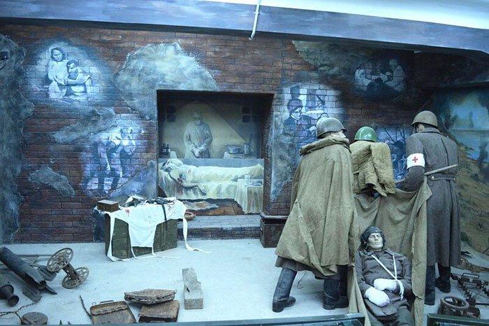 Музей «Память», Мамаев курган, Волгоград