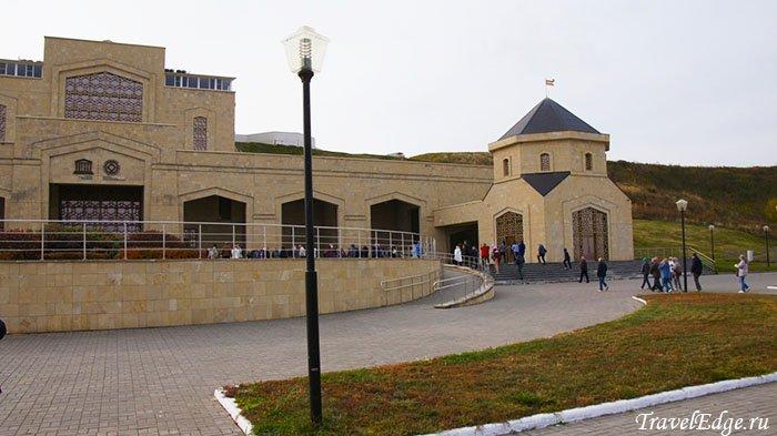 Музей болгарской цивилизации (вид с реки), Болгар, республика Татарстан