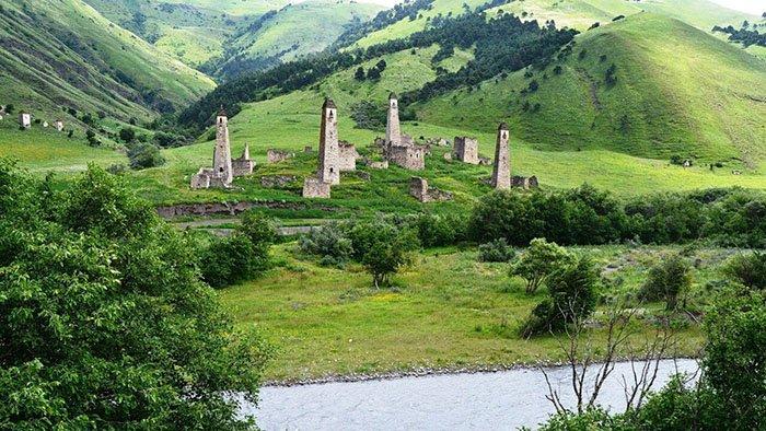Башенный комплекс Таргим, Ингушетия