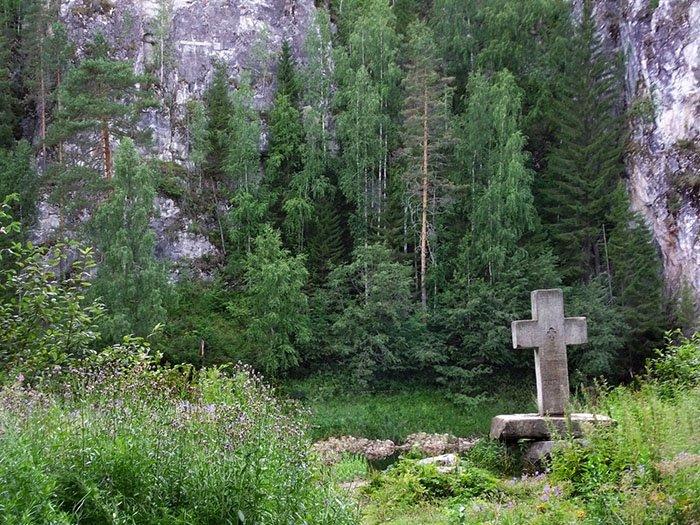 Демидовский крест, Река Чусовая, Урал