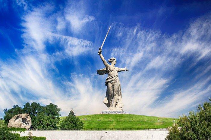 Монумент «Родина-мать зовёт», Мамаев курган, Волгоград