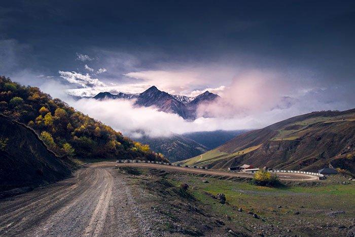 Дорога в с. Джейрах, Ингушетия