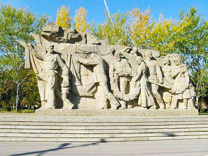 """Мемориал """"Память поколений"""", Мамаев курган, Волгоград"""