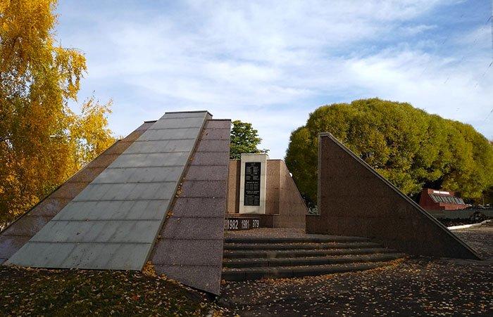 "Памятник погибшим афганцам, Парк ""Победа"", Чебоксары"