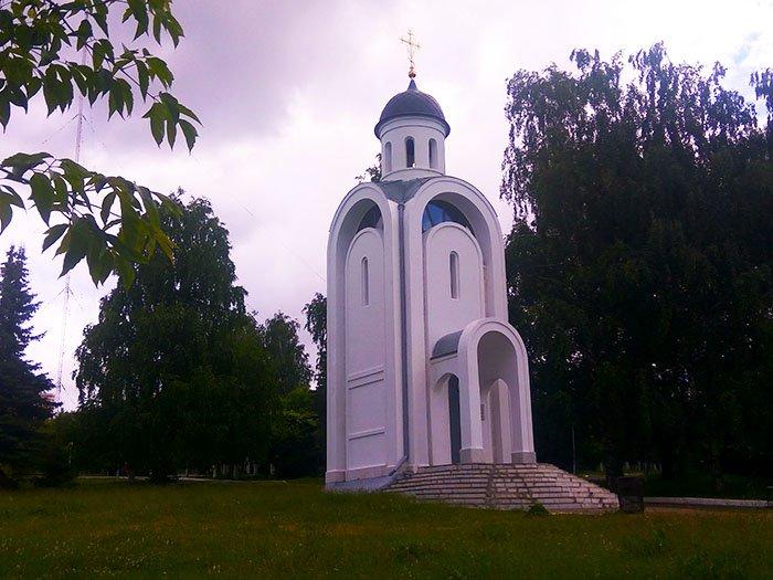 """Храм-Часовня святого Иоанна Воина, Парк """"Победа"""", Чебоксары"""