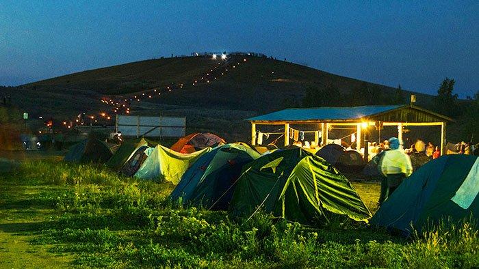 Палаточный городок, Аркаим, Челябинская область