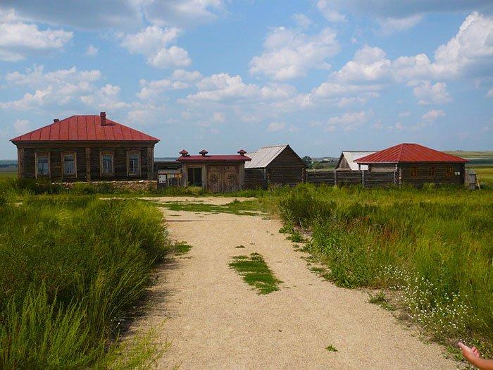 Казачья усадьба, Аркаим, Челябинская область