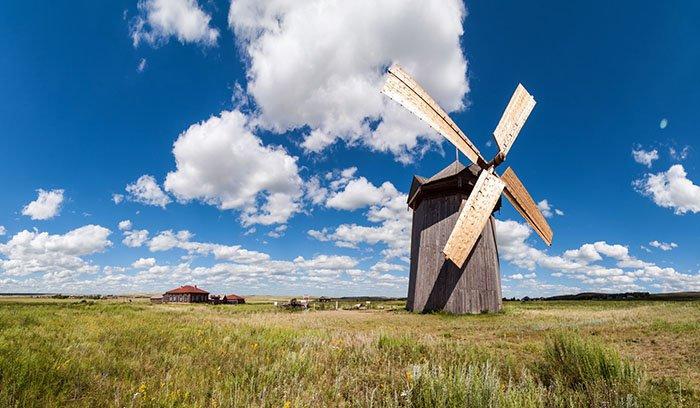 Ветряная мельница, Аркаим, Челябинская область