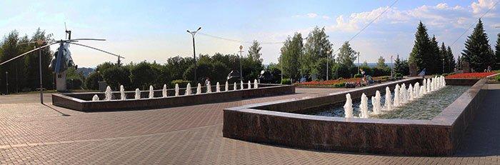 "Каскадный фонтан, Парк ""Победа"", Чебоксары"