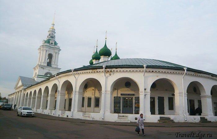 Крытые торговые ряды, Кострома, Костромская область