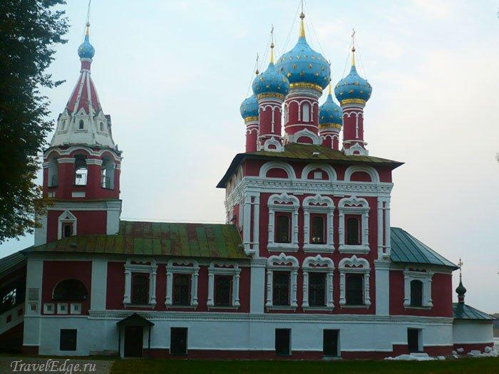 Церковь царевича Дмитрия на крови, Углич, Ярославская область