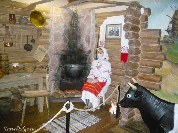 Изготовление сыра «по старинке», Музей сыра, Кострома