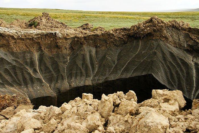 Ямальский кратер, Ямало-Ненецкий автономный округ
