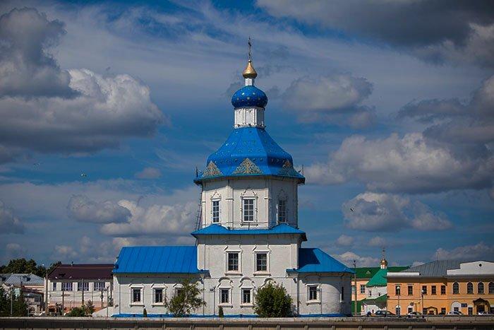 Храм Успения Пресвятой Богородицы, Чебоксарский залив, Чувашская Республика