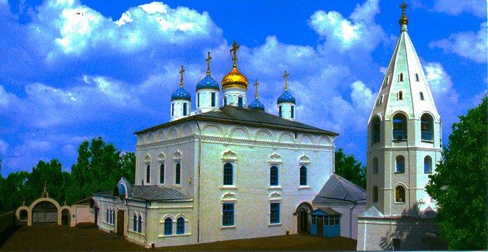 Введенский кафедральный собор, Чебоксарский залив, Чувашская Республика