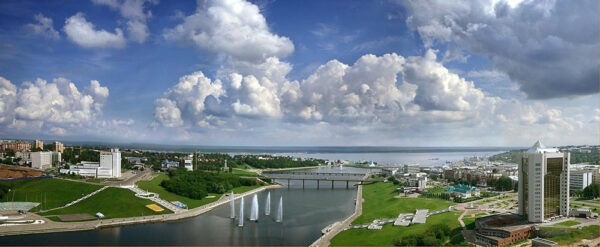 Чебоксарский залив, Чувашская Республика