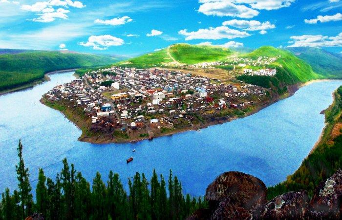 Поселок Тура, Эвенкия, Красноярский край