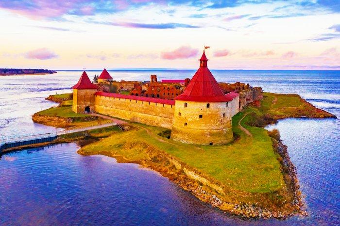 Крепость Орешек на Неве