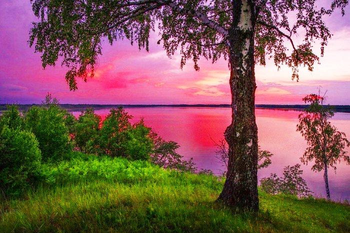 После заката на Малиновом озере
