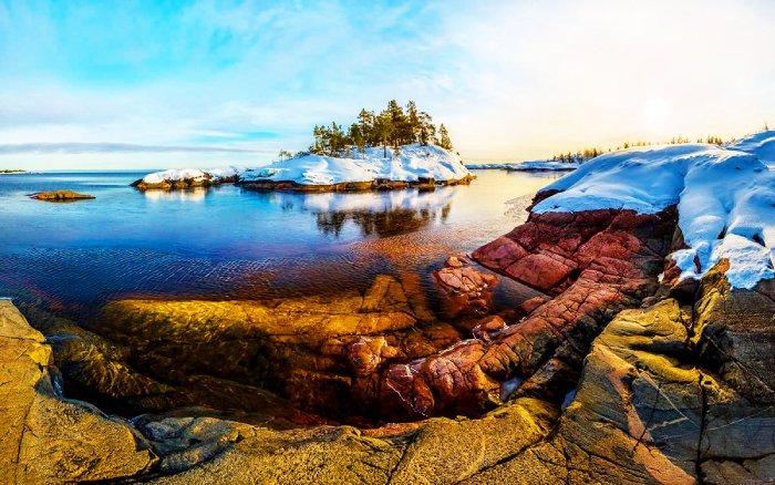 Ладожское озеро, Карелия