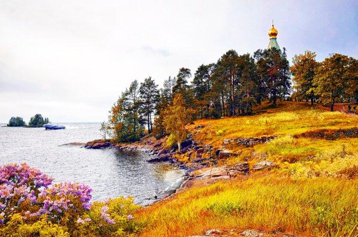 Остров Валаам Карелия