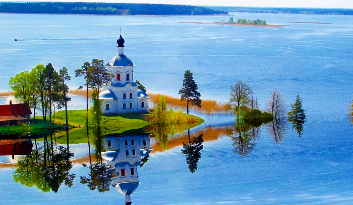 Озеро Селигер, Тверская область