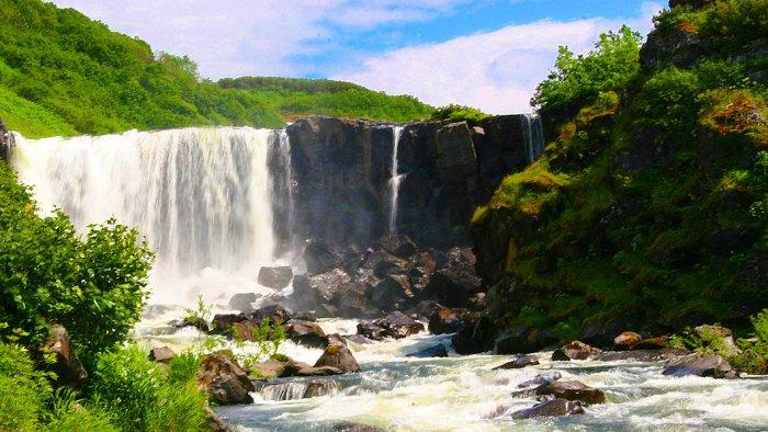 Толмачёвские водопады, Камчатский край