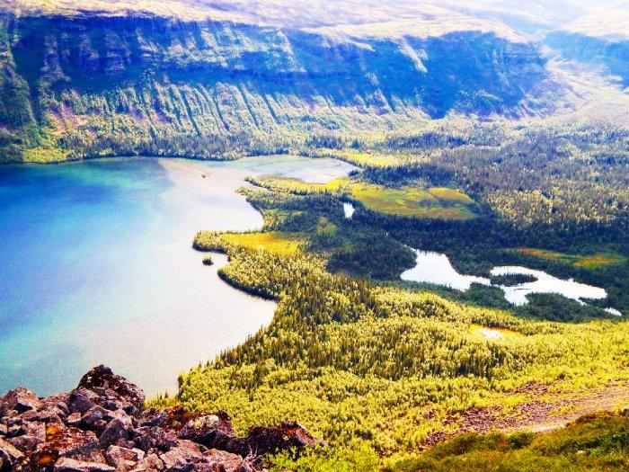 Озеро Сейдозеро, Мурманская область