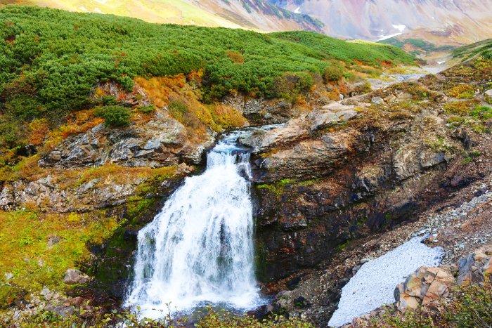 Водопады Карымские, Камчатка