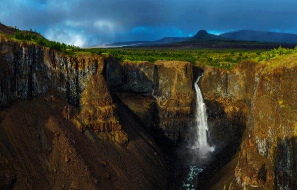 Тальниковый водопад, Красноярский край, Россия