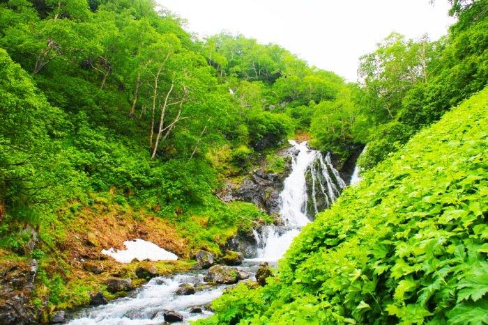 Киселёвские водопады, Камчатский край