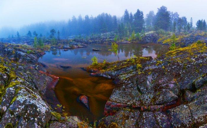 «Висячие озёра»,  Карелия. Фото с сайта - cdn.photosight.ru