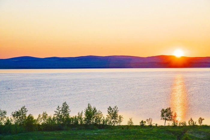 Хакасия, озеро Шира
