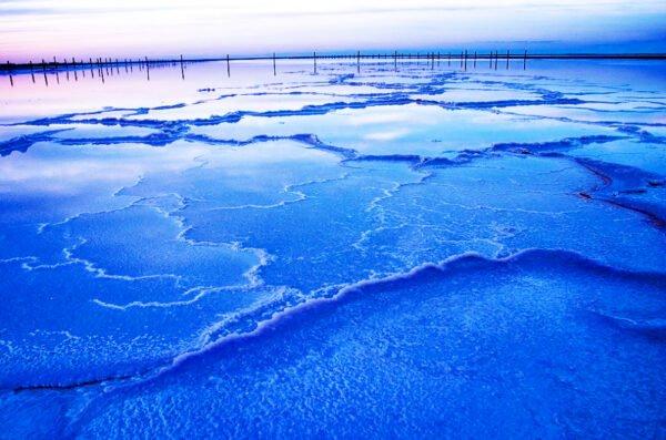 Соленое озеро в России