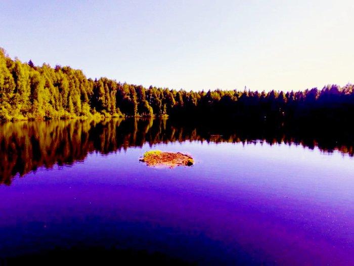 Плавающие острова озера Шайтан, Кировская область