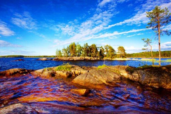 Озеро Онежское, Карелия