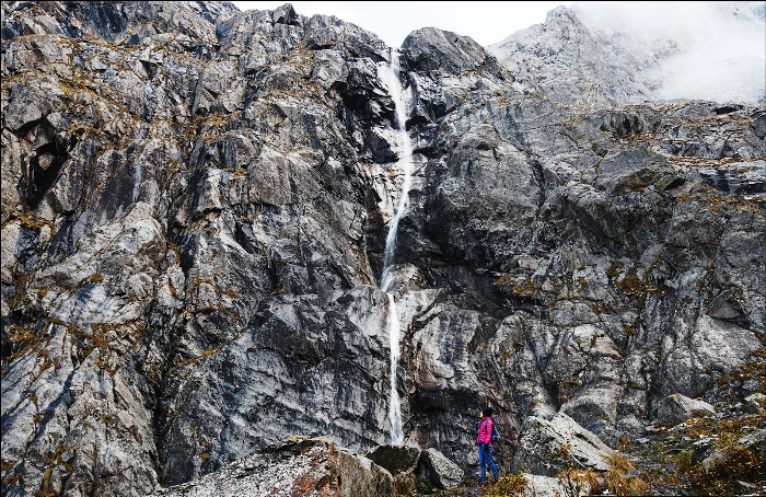 Большой Зейгалан - самый высокий в Европе водопад