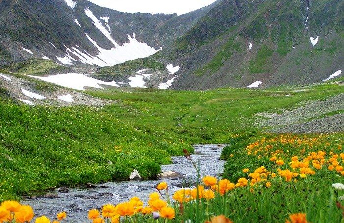 Гора Кызыл-Тайга, Западные Саяны