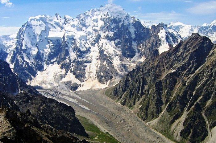 Гора Дыхтау, Кавказ