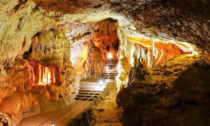 Мраморная пещера. Массив Чатыр-Даг