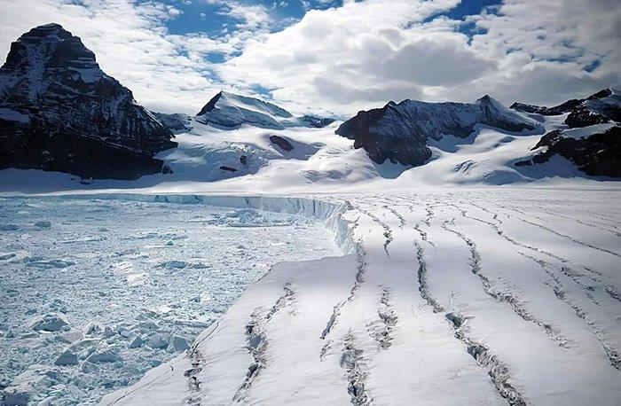 Ледники Большого арктического заповедника