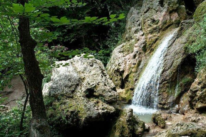 Водопад Баскон. Алтайский заповедник